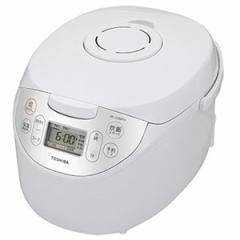 東芝 RC-10MFH-W マイコンジャー炊飯器(5.5合炊き) ホワイトTOSHIBA マイコン保温釜[RC10MFHW]【返品種別A】