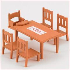 エポック社 ダイニングテーブルセット【カ-412】シルバニアファミリー 【返品種別B】