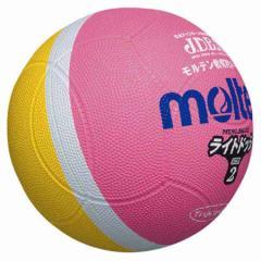 モルテン MT-SLD2PL ドッジボールMolten ライトドッジボール2号球 ピンクx黄[MTSLD2PL]【返品種別A】