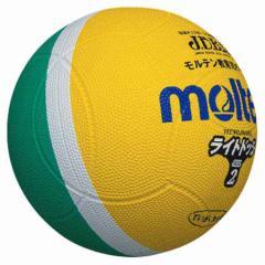 モルテン MT-SLD2ML ドッジボールMolten ライトドッジボール2号球 黄x緑[MTSLD2ML]【返品種別A】
