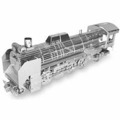 テンヨー メタリックナノパズル D51-498号機形蒸気機関車立体パズル 【返品種別B】