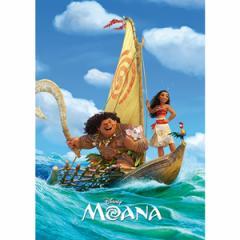 テンヨー ディズニー 冒険の旅へ!  モアナと伝説の海 108ピースジグソーパズル 【返品種別B】