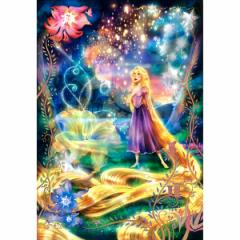テンヨー ディズニー 輝く魔法の髪(ラプンツェル) ピュアホワイト 1000ピースジグソーパズル 【返品種別B】