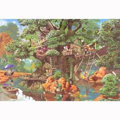 テンヨー ディズニー ふしぎの森のツリーハウス 1000ピースジグソーパズル 【返品種別B】