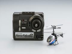 シーシーピー 3ch 赤外線ヘリコプター ナノファルコン アルファ メタリックブルーラジコン 【返品種別B】