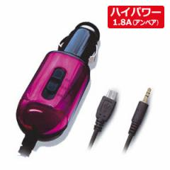 カシムラ KD-158 FMトランスミッター スマートフォン充電機能付(ピンク)[KD158]【返品種別A】