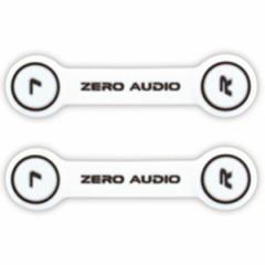 ゼロオーディオ ZA-CLP-WK ヘッドホンクリップ(2個入り・ホワイト/ブラック)ZEROAUDIO[ZACLPWK]【返品種別A】