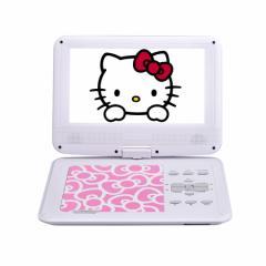 AVOX 9型ポータブルDVDプレーヤー ハローキティモデル (ピンク) HELLO KITTY モデル ADP-9030MKTY-P(AVOX)【返品種別A】