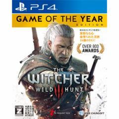 【PS4】ウィッチャー3 ワイルドハント ゲームオブザイヤーエディション PLJS74015【返品種別B】