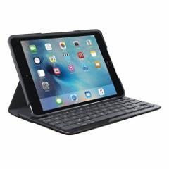 ロジクール iPad mini 4用 キーボード一体型保護ケース(ブラック) IK0772BK【返品種別A】