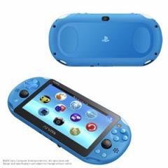 【新品】PlayStation(R)Vita Wi-Fiモデル アクア・ブルー【お一人様一台限り】 PCH-2000ZA23【返品種別B】
