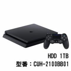PlayStation 4 ジェット・ブラック 1TB【お一人様一台限り】 CUH-2100BB01 PS4ブラック1TB【返品種別B】
