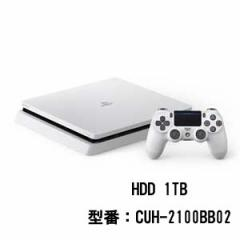 PlayStation 4 グレイシャー・ホワイト 1TB【お一人様一台限り】 CUH-2100BB02 PS4ホワイト1TB【返品種別B】