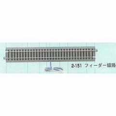 カトー (HO) 2-151 HOユニトラック フィーダー線路246mm(1本入) K2-151HOフィ-ダ-S246F【返品種別B】