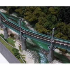 カトー (N) 20-823 ユニトラック カーブ鉄橋セット R448-60°(緑) KATO 20-823 カーブテッキョウセット【返品種別B】