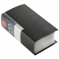 バッファロー BSCD01F120BK CD/DVDファイル 120枚収納(ブラック)ブックタイプ 120枚収納[BSCD01F120BK]【返品種別A】