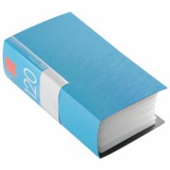 バッファロー BSCD01F120BL CD/DVDファイル 120枚収納(ブルー)ブックタイプ 120枚収納[BSCD01F120BL]【返品種別A】