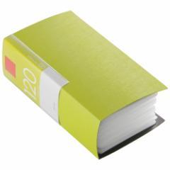 バッファロー BSCD01F120GR CD/DVDファイル 120枚収納(グリーン)[BSCD01F120GR]【返品種別A】