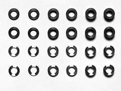 タミヤ OP.539 φ5.5mmアルミスペーサーセット【53539】 【返品種別B】
