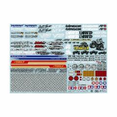 タミヤ OP.1630 スポンサーステッカーセット(オフロード)【54630】ラジコン用パーツ 【返品種別B】