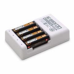 タミヤ 単3形ニッケル水素電池 ネオチャンプ(4本)と急速充電器PRO II【55116】 【返品種別B】