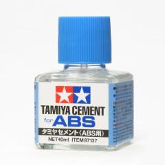 タミヤ タミヤセメント ABS用【87137】接着剤 【返品種別B】