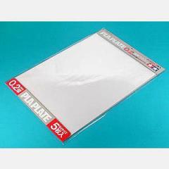 タミヤ 透明プラバン 0.2mm厚 B4サイズ (5枚入)【70126】工作素材 【返品種別B】