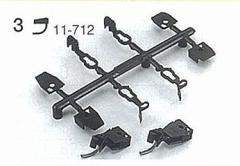 カトー (N) 11-712 マグネマティックカプラーNo.2001(長短各2個入) KATO11-712 マグネマティックカプラーNO2001【返品種別B】