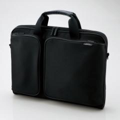 エレコム ZSB-BM005NBK 14.1〜16.4型用パソコンバッグ(ブラック)[ZSBBM005NBK]【返品種別A】