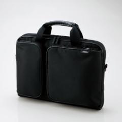エレコム ZSB-BM006NBK 12.1〜13.3型用パソコンバッグ(ブラック)[ZSBBM006NBK]【返品種別A】