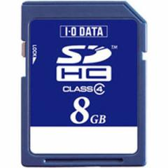 I/Oデータ BSD-8G4A SDHCメモリーカード 8GB Class4[BSD8G4A]【返品種別A】