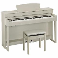 ヤマハ 電子ピアノ(ホワイトアッシュ調)【高低自在椅子&ヘッドホン&ソングブック付き】 CLP-545WA【返品種別A】