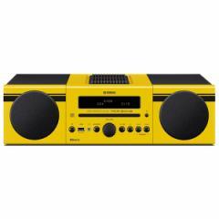 ヤマハ MCR-B043Y CD/Bluetooth/USBマイクロコンポーネントシステム(イエロー)【台数限定モデル】YAMAHA[MCRB043Y]【返品種別A】