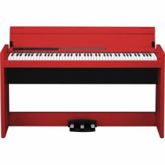 コルグ LP-380-RD 電子ピアノ (レッド)KORG LP-380 RD[LP380RD]【返品種別A】