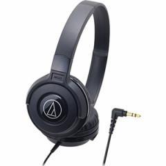 オーディオテクニカ ATH-S100-BK ダイナミック密閉型ヘッドホン (ブラック)audio-technica[ATHS100BK]【返品種別A】