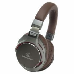 オーディオテクニカ ATH-MSR7 GM ハイレゾ対応ヘッドホン(ガンメタリック)audio-technica ポータブルヘッドホン[ATHMSR7GM]【返品種別A】