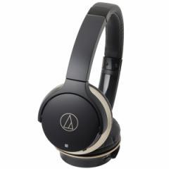 オーディオテクニカ ATH-AR3BT-BK Bluetooth対応ワイヤレスヘッドホン(ブラック・ゴールド)audio-technica[ATHAR3BTBK]【返品種別A】