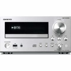 オンキヨー CR-N755-S ネットワークCDレシーバー(シルバー)ONKYO[CRN755S]【返品種別A】