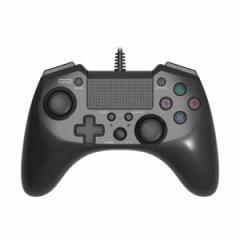 【PS4/PS3】ホリパッドFPSプラス for PlayStation 4 ブラック PS4-025【返品種別B】