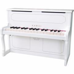 カワイ 1152 ミニピアノ(ホワイト)KAWAI アップライトピアノタイプ[1152アプライトピアノホワイト]【返品種別A】