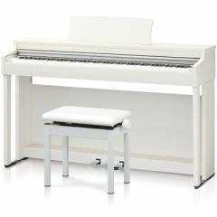 カワイ CN27-A 電子ピアノ(プレミアムホワイトメープル調仕上げ)【高低自在椅子&ヘッドホン付き】KAWAI[CN27A]【返品種別A】