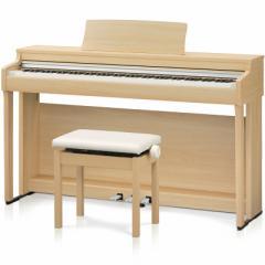 カワイ CN27-LO 電子ピアノ(プレミアムライトオーク調仕上げ)【高低自在椅子&ヘッドホン付き】KAWAI[CN27LO]【返品種別A】