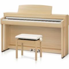 カワイ CN37-LO 電子ピアノ(プレミアムライトオーク調仕上げ)【高低自在椅子&ヘッドホン付き】KAWAI[CN37LO]【返品種別A】