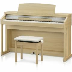 カワイ 電子ピアノ(プレミアムライトオーク調)【高低自在椅子&ヘッドホン&楽譜集付き】 CA17LO【返品種別A】