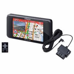 セルスター AR-W51GA 116 GPS内蔵 レーダー探知機 + OBDIIアダプターセットCELLSTAR ASSURA(アシュラ)[ARW51GA116]【返品種別A】