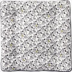 BONFORM 5211-06W クッション(ホワイト)スヌーピーパターン[521106W]【返品種別A】