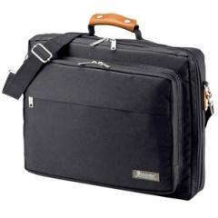 サンワサプライ BAG-C39BKN PCキャリングバッグ(15.6型ワイド対応・ブラック)[BAGC39BKN]【返品種別A】