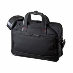 サンワサプライ BAG-EXE7 15.6インチワイド対応 エグゼクティブビジネスバッグPRO(ブラック)[BAGEXE7]【返品種別A】