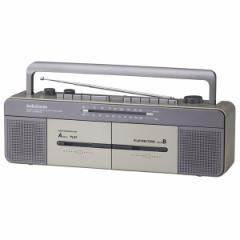 オーム RCS-W877M ダブルラジカセAudioComm OHM[RCSW877M079726]【返品種別A】