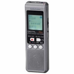 オーム ICR-U128N デジタルICレコーダー 8GBメモリ内蔵AudioComm OHM[ICRU128N093014]【返品種別A】